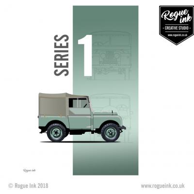 Land Rover Series 1 T-Shirt