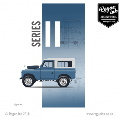 Land Rover Series 2 T-Shirt