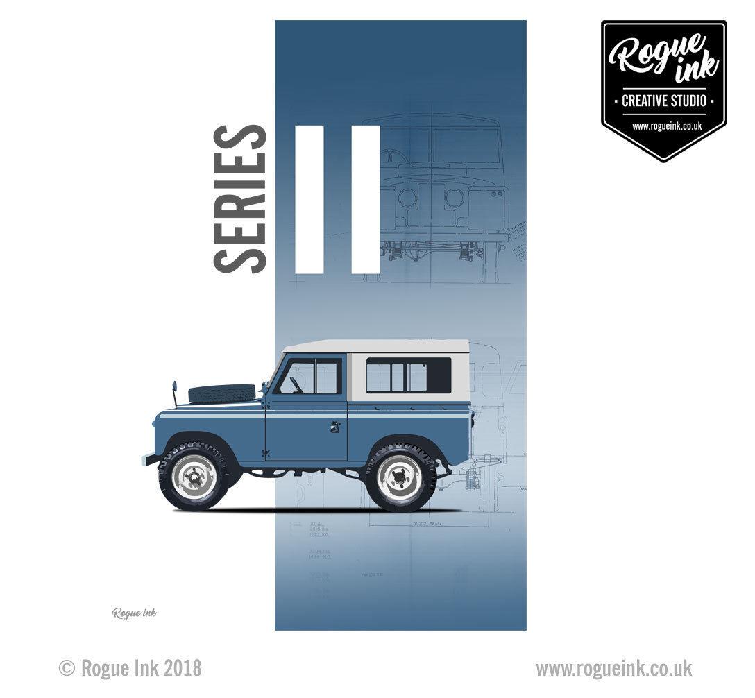 Land Rover Series 2 T-Shirt
