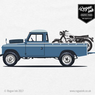 Land Rover Series 3 LWB Pickup