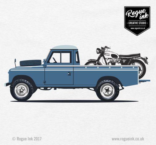 Land Rover Series 3 LWB Pickup